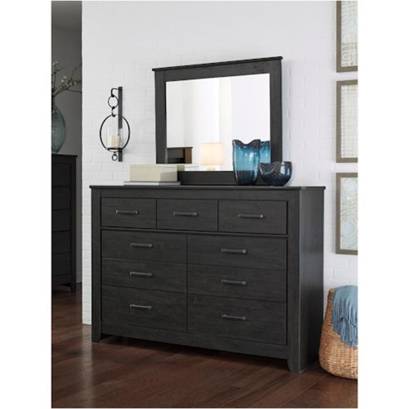 b249-31 ashley furniture brinxton - black bedroom dresser