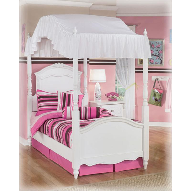 Ashley Furniture 14 Piece Package: B188-51 Ashley Furniture Exquisite Twin Canopy Footboard