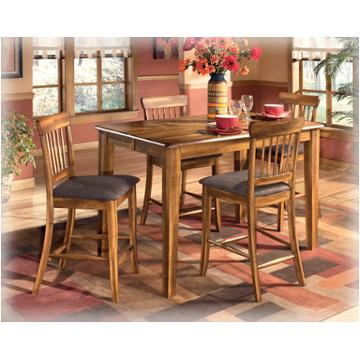 D199 32 Ashley Furniture Berringer Counter Height Butterfly Table