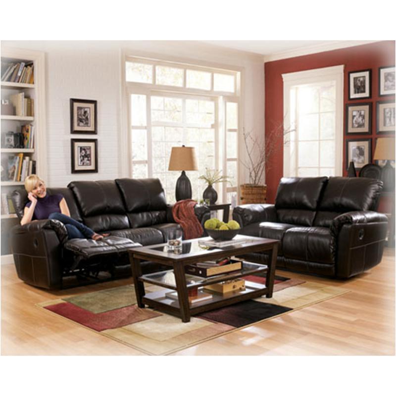 6560186 Ashley Furniture San Marco   Chocolate Living Room Loveseat