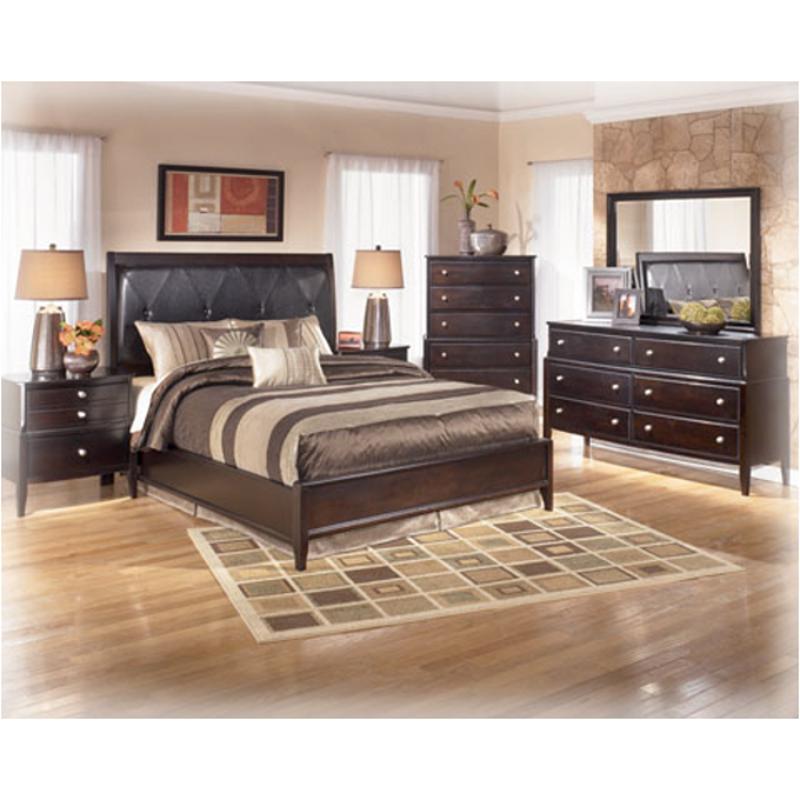 B461 92 Ashley Furniture Naomi Bedroom Nightstand Night Stand