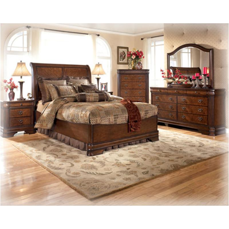 Bedroom Set Ashley Furniture Outlet: B527-57 Ashley Furniture Hamlyn Queen Panel Bed With