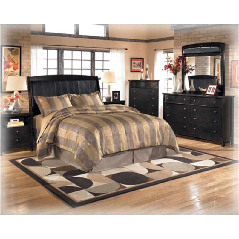 B208 77 Ashley Furniture Queen Sleigh Bed With Platform Fb