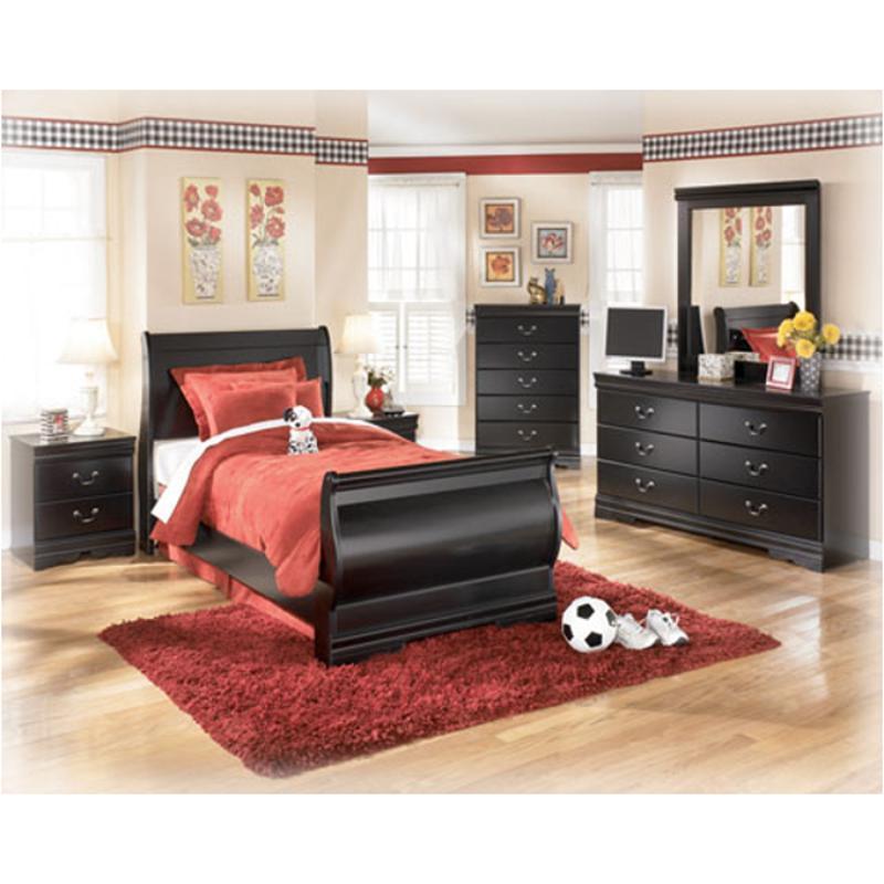 B128-31 Ashley Furniture Huey Vineyard Bedroom Bed Dresser