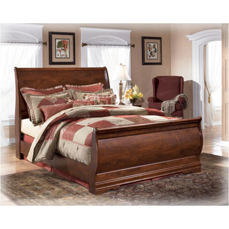 Ashley Furniture Discontinued: B178-77 Ashley Furniture Queen Sleigh Bed
