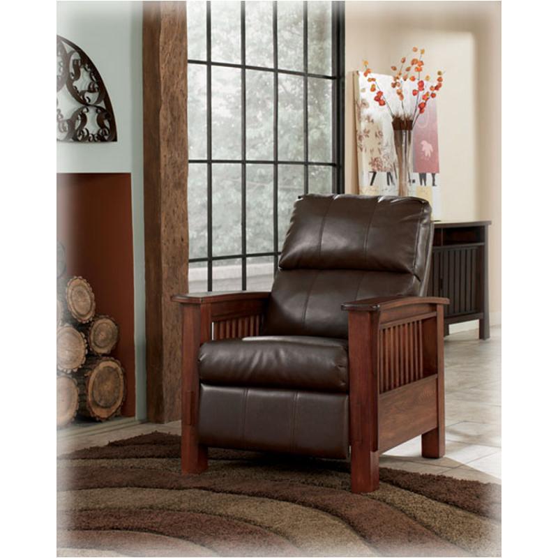 Ashley Furniture Manchester Nh: 1990026 Ashley Furniture High Leg Recliner Medium Bark