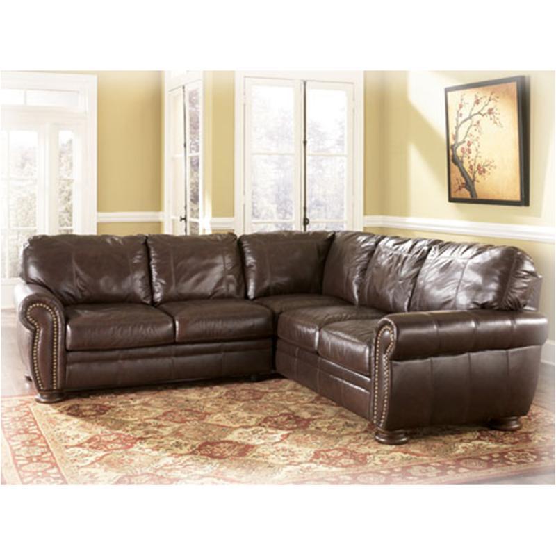 2050067 Ashley Furniture Palmer Walnut Raf Sofa Sectional