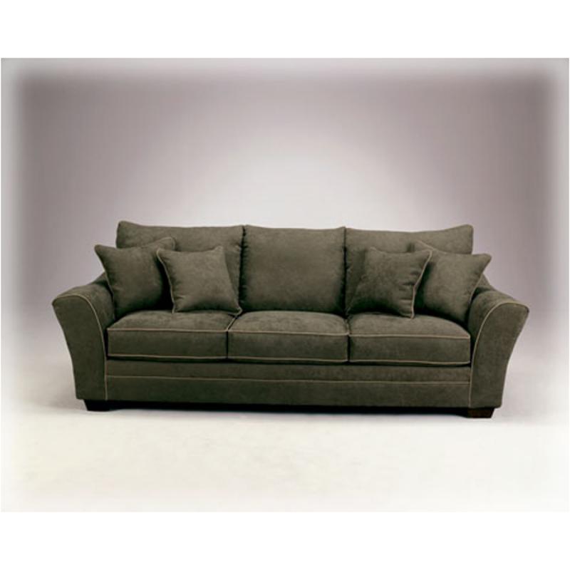 3170238 Ashley Furniture Durapella Basketweave   Olive Living Room Sofa