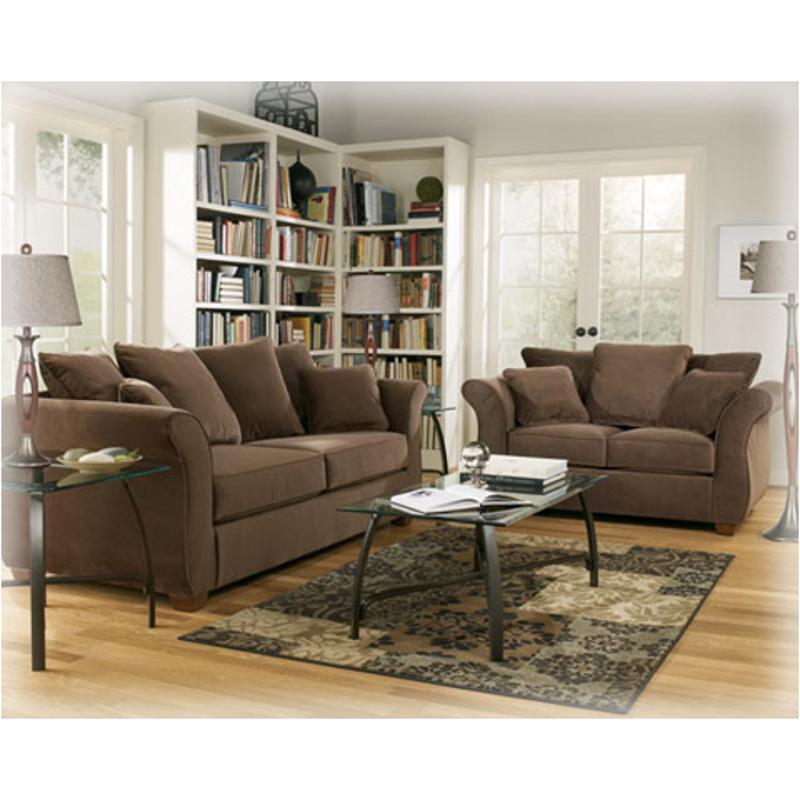 Delightful 5170035 Ashley Furniture Chandler   Walnut Living Room Loveseat