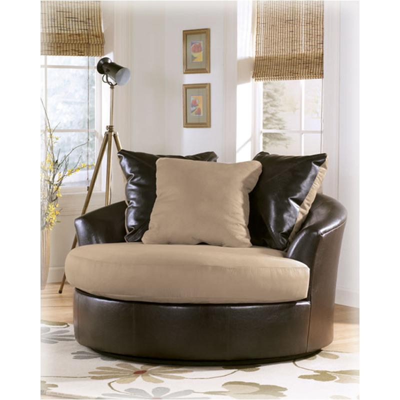 ... Oversized Swivel Accent Chair. 5360021 Ashley Furniture Logan   Stone  Living Room Living Room Chair