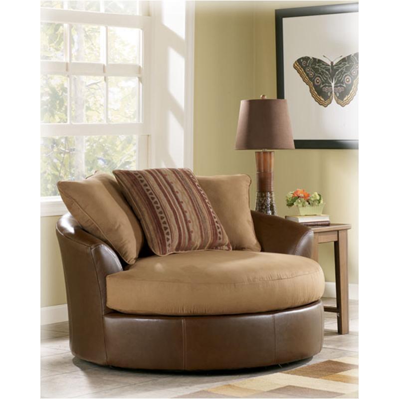8180421 Ashley Furniture Jamison   Saddle Living Room Living Room Chair