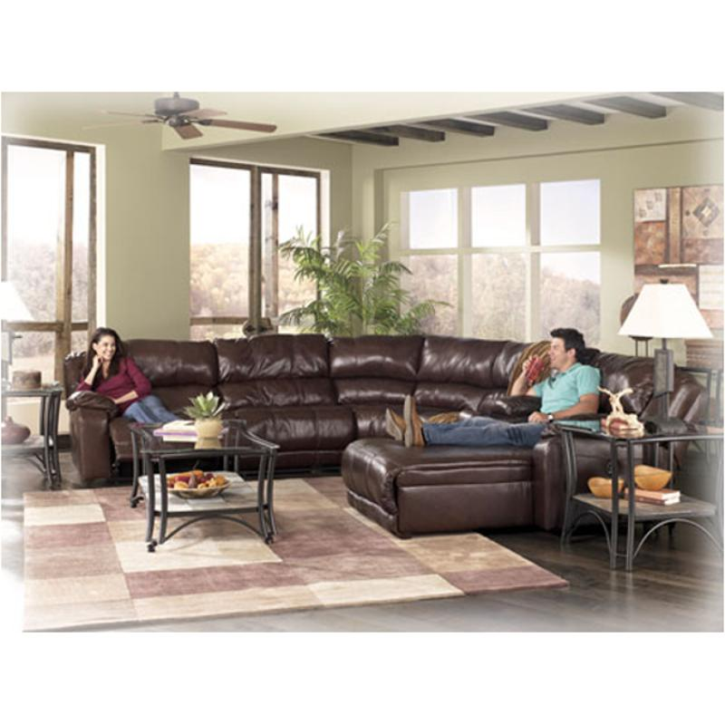 9780077 Ashley Furniture Braxton Java Living Room Sectional