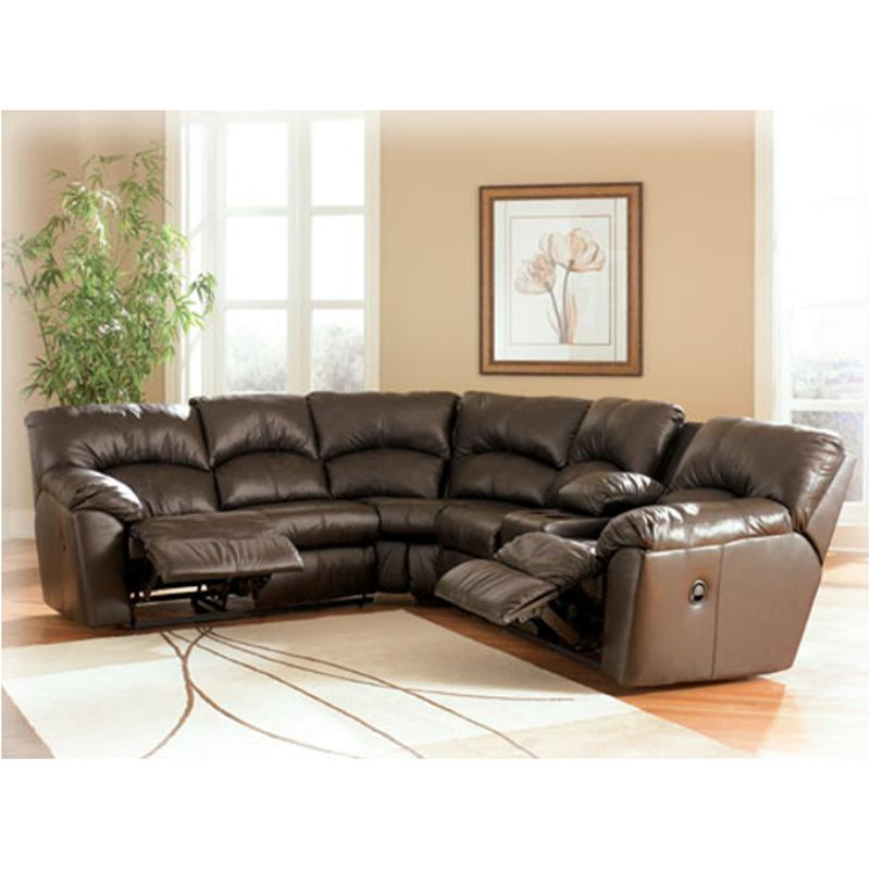Amazing 9900048 Ashley Furniture Kellum Chocolate Laf Single Reclining Loveseat W Half Wedge Gmtry Best Dining Table And Chair Ideas Images Gmtryco
