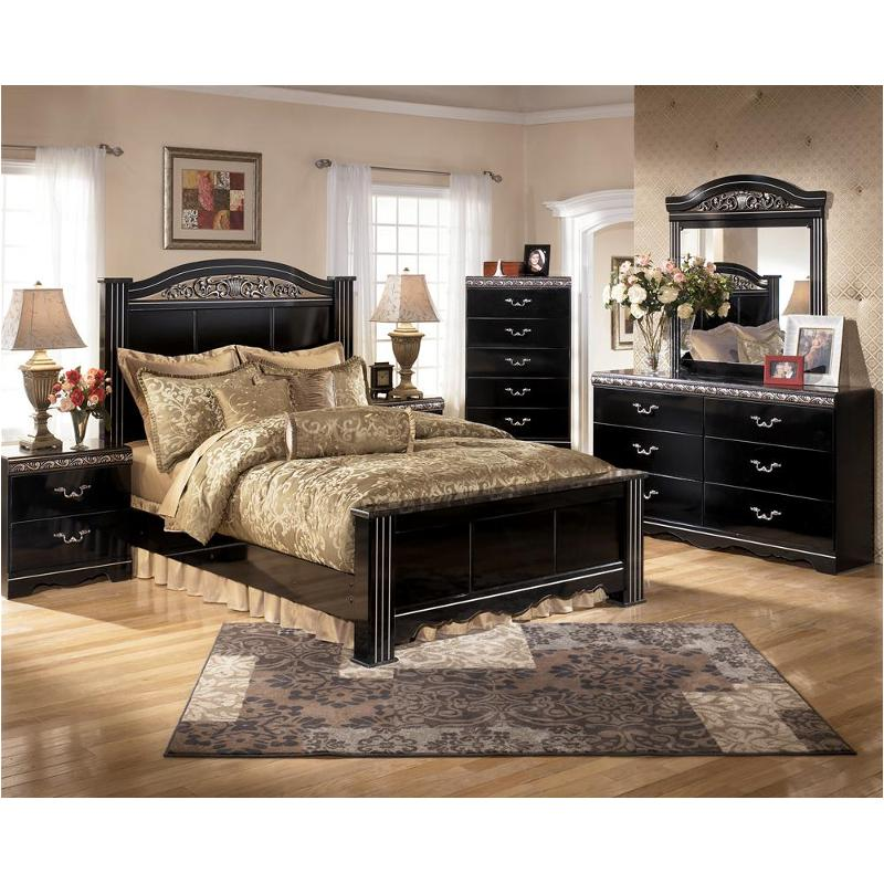 Fabulous B104 67 Ashley Furniture Constellations Black Queen Poster Bed Beatyapartments Chair Design Images Beatyapartmentscom
