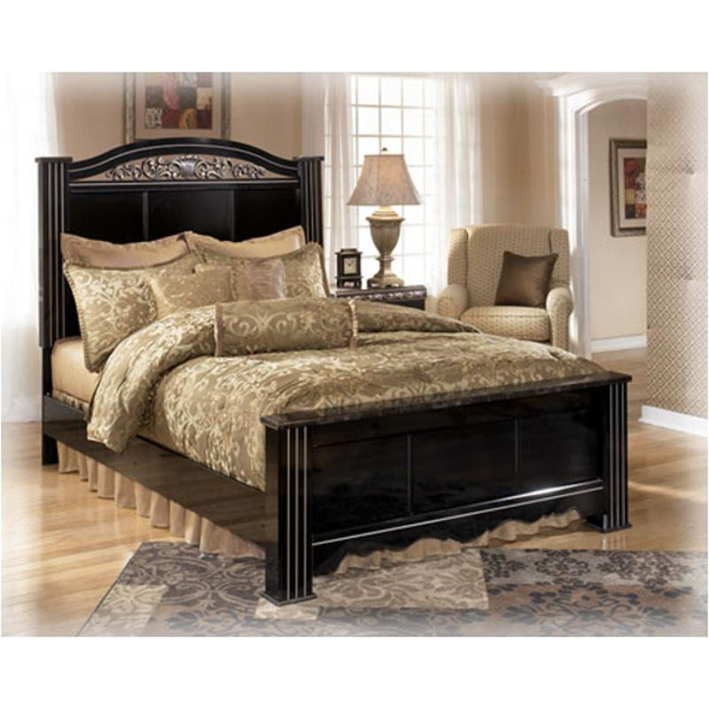 Sensational B104 68 Ashley Furniture Constellations Black King Poster Bed Beatyapartments Chair Design Images Beatyapartmentscom