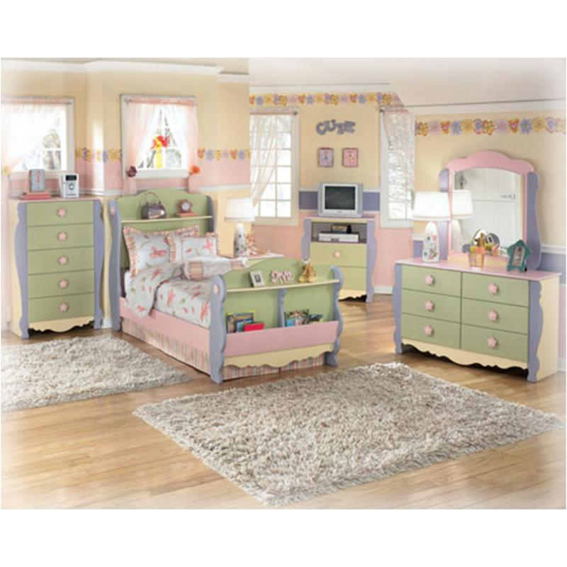 B140 26 Ashley Furniture Doll House Bedroom Mirror