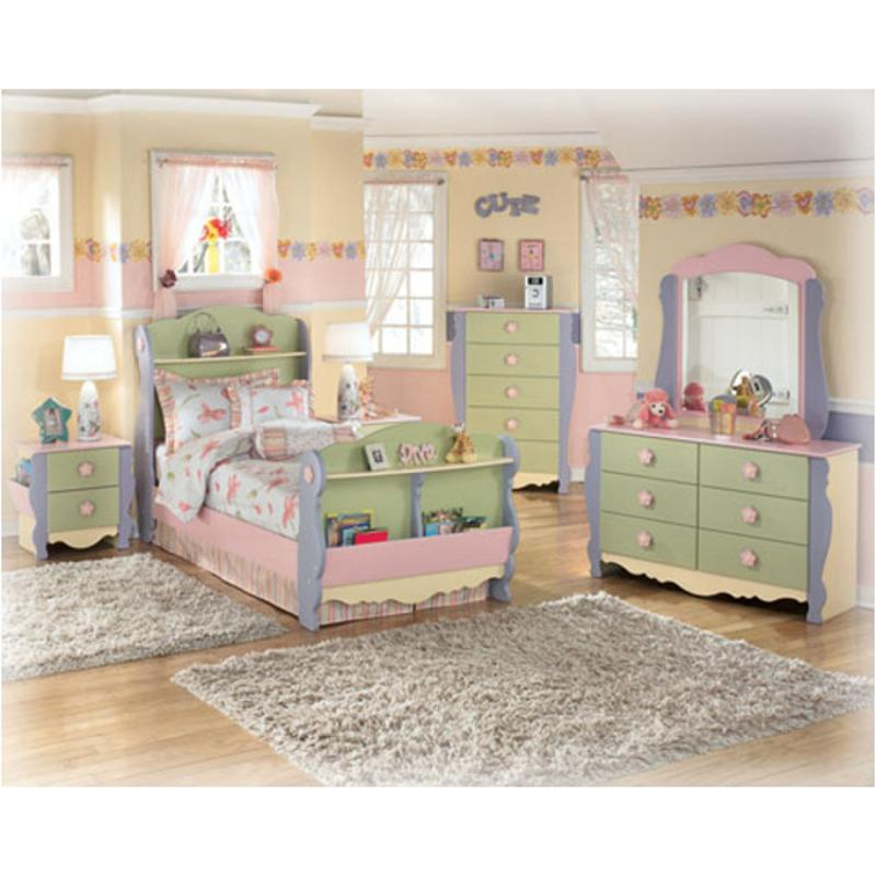 B140-92 Ashley Furniture Doll House Two Drawer Night Stand