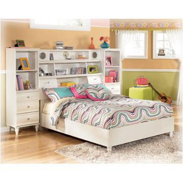 B149 87 Ashley Furniture Mi Style Bedroom Full Bookcase Headboard