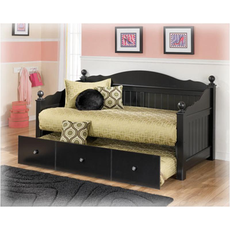 B150 80 Ashley Furniture Jaidyn   Black Bedroom Daybed