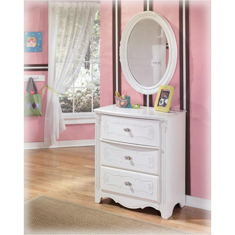 b188 43 ashley furniture exquisite white three drawer chest 11523 | b188 43