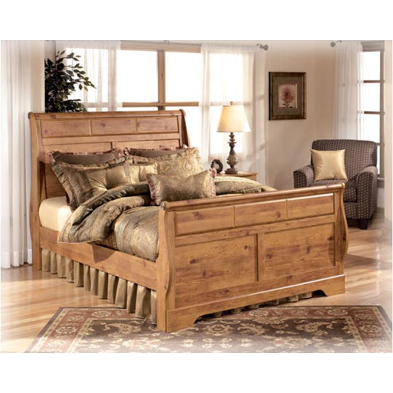 B219-65 Ashley Furniture Bittersweet Bedroom Queen Sleigh Bed
