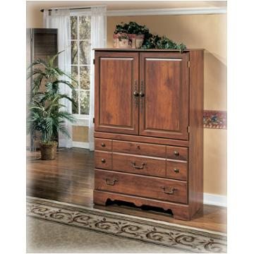 B258 49 Ashley Furniture Timberline Bedroom Armoire