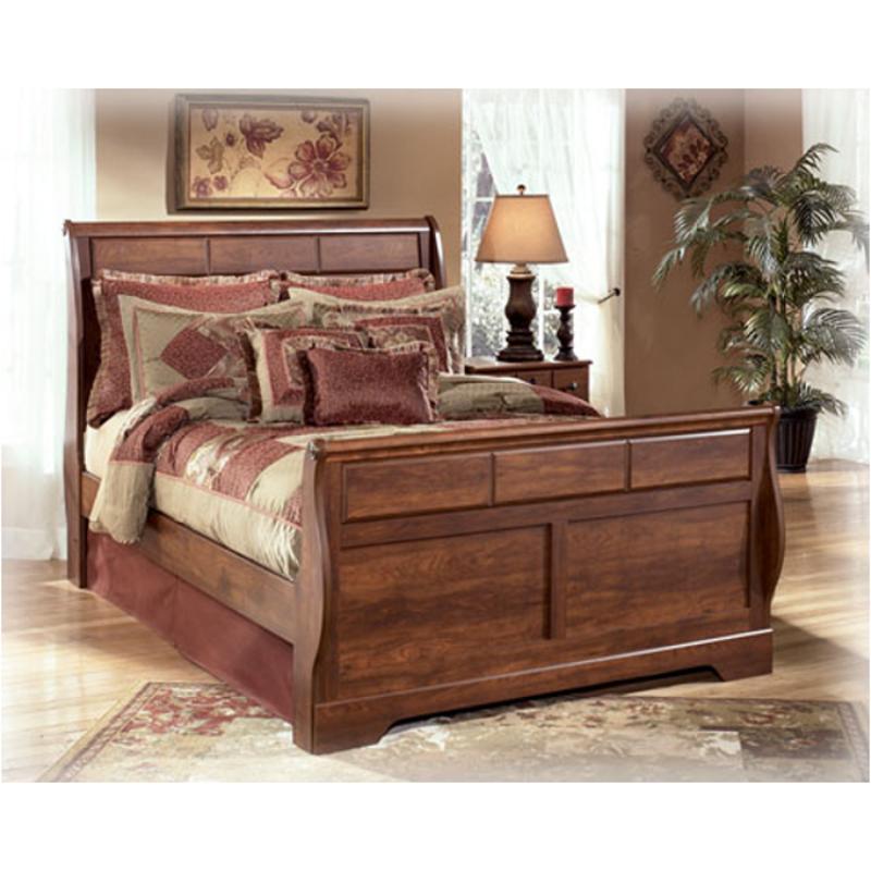 Timberline Sleigh Bedroom Set Signature Design: B258-57 Ashley Furniture Timberline Bedroom Queen Sleigh Bed