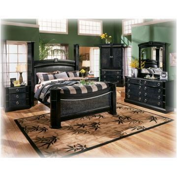 b313-93 ashley furniture south haven 3 drawer nightstand black