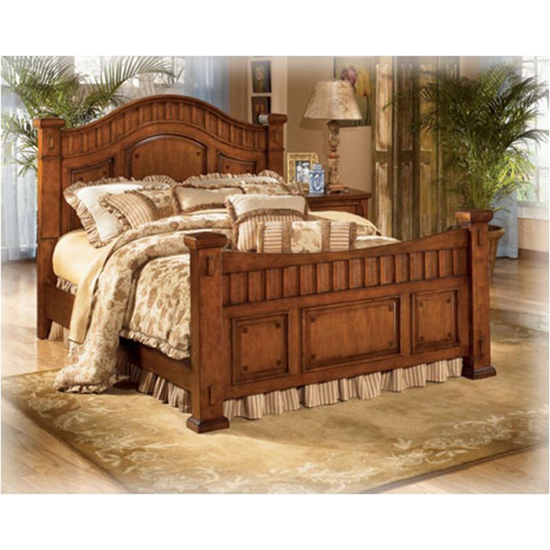 Ashley Home Furnishings: B319-99 Ashley Furniture Cross Island Bedroom King Poster