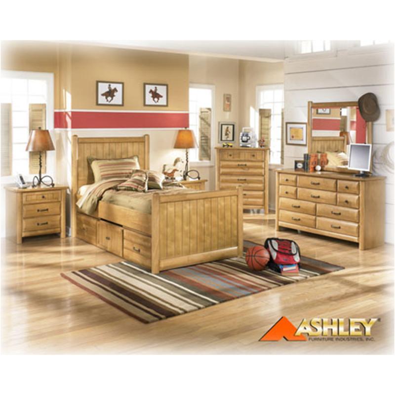 B373 21 Ashley Furniture Cabin Creek Bedroom Dresser