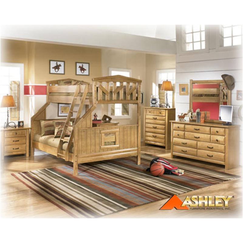 B373 92 Ashley Furniture Cabin Creek Bedroom Nightstand