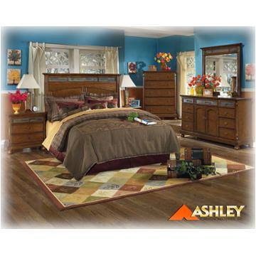 B453-31 Ashley Furniture Toscana Dresser Rustic Finish/slate
