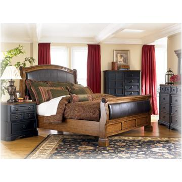 B534 88 Ashley Furniture Rowley Creek Bedroom King Sleigh Rails