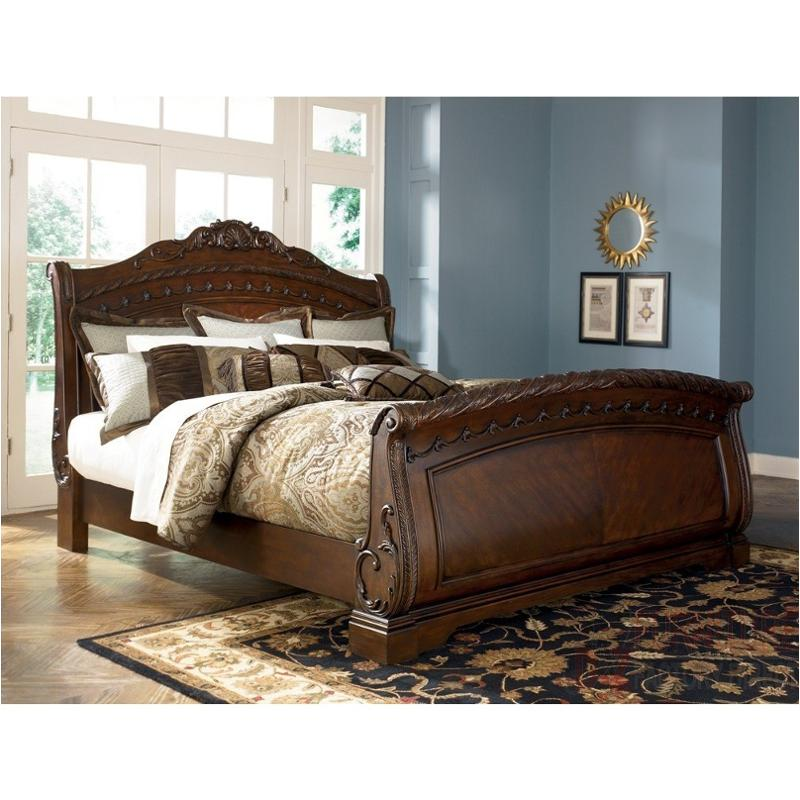 Ashley Furniture California: B553-73 Ashley Furniture California King Sleigh Rails