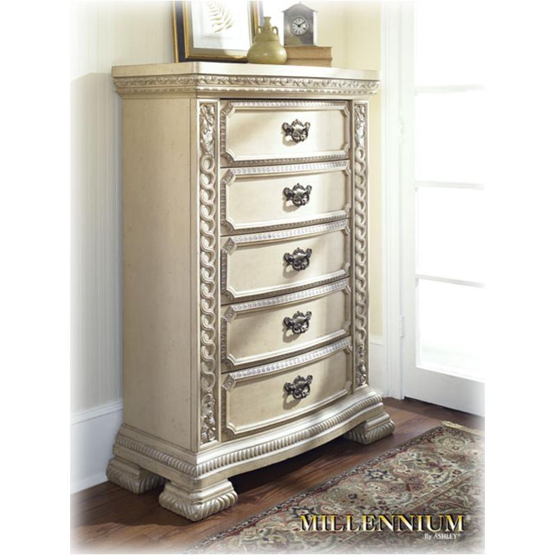 B608 46 Ashley Furniture Ballentynes Hill Bedroom Chest