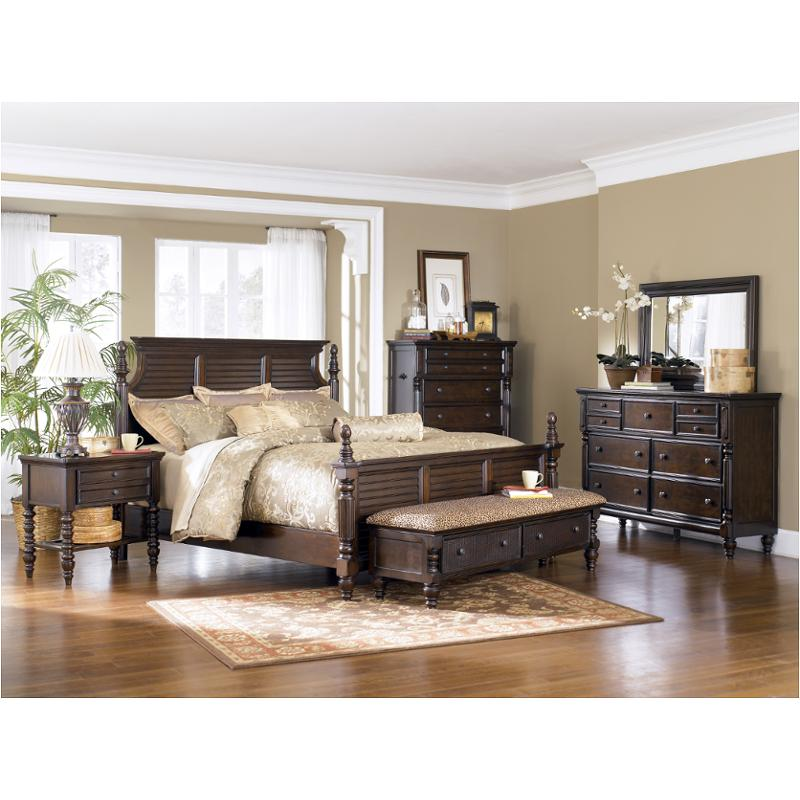 Attirant B668 57 Ashley Furniture Key Town Bedroom Bed
