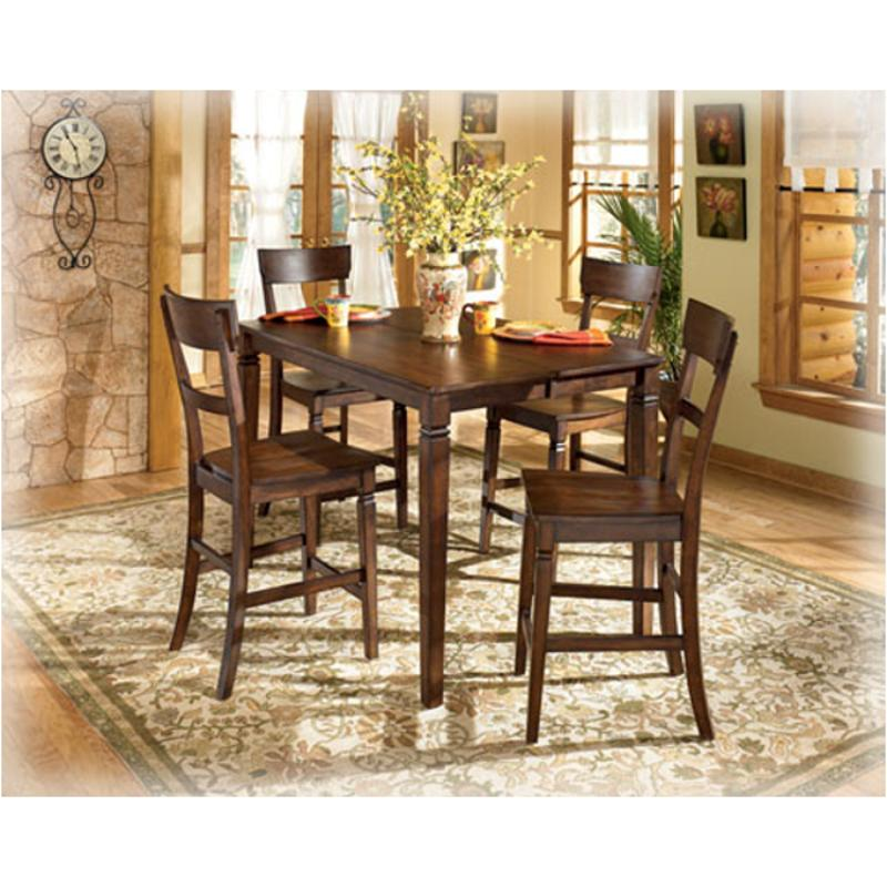 Ashley Furniture Dining Room Table: D254-32 Ashley Furniture Butterfly Leaf Counter Height Table