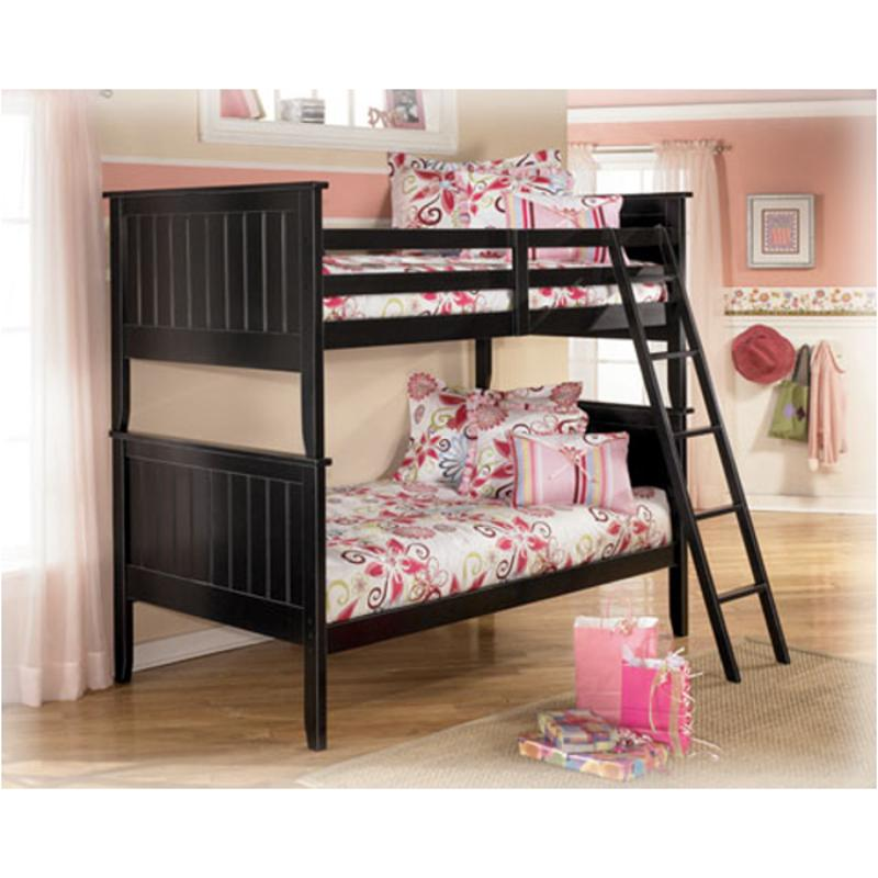 B150 59r Ashley Furniture Jaidyn Twin Bunk Bed Rails And Ladder