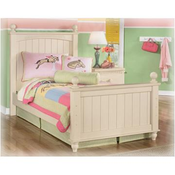 B213 52n Ashley Furniture Twin Poster Bed