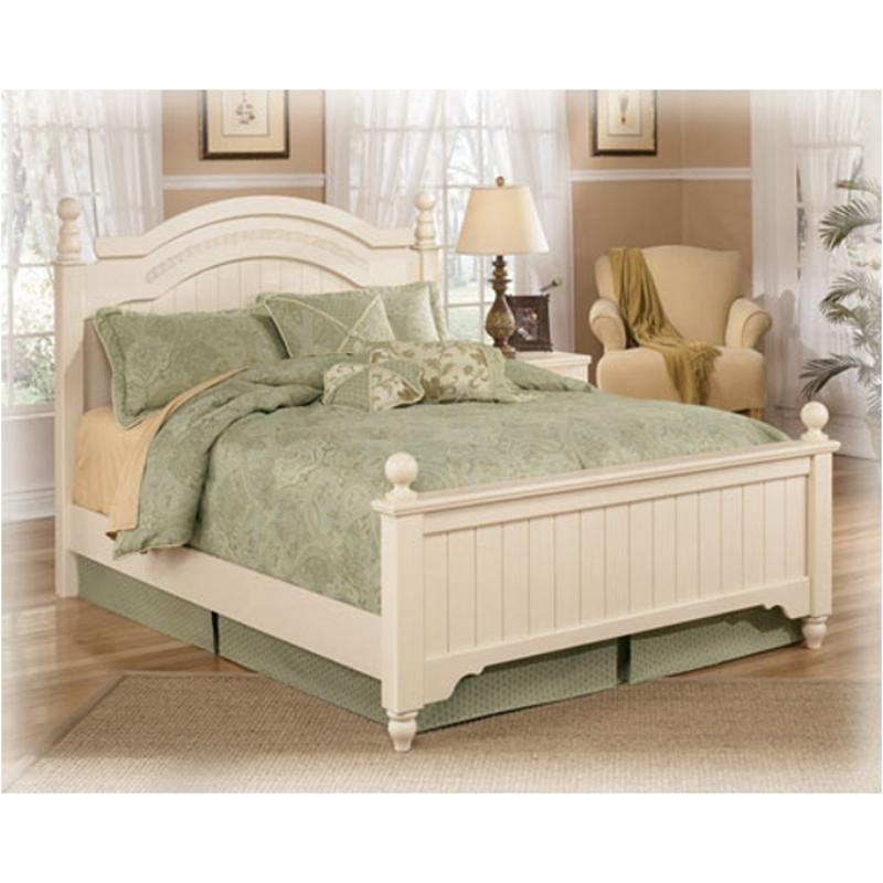 B213-57n Ashley Furniture Cottage Retreat Queen Poster Bed