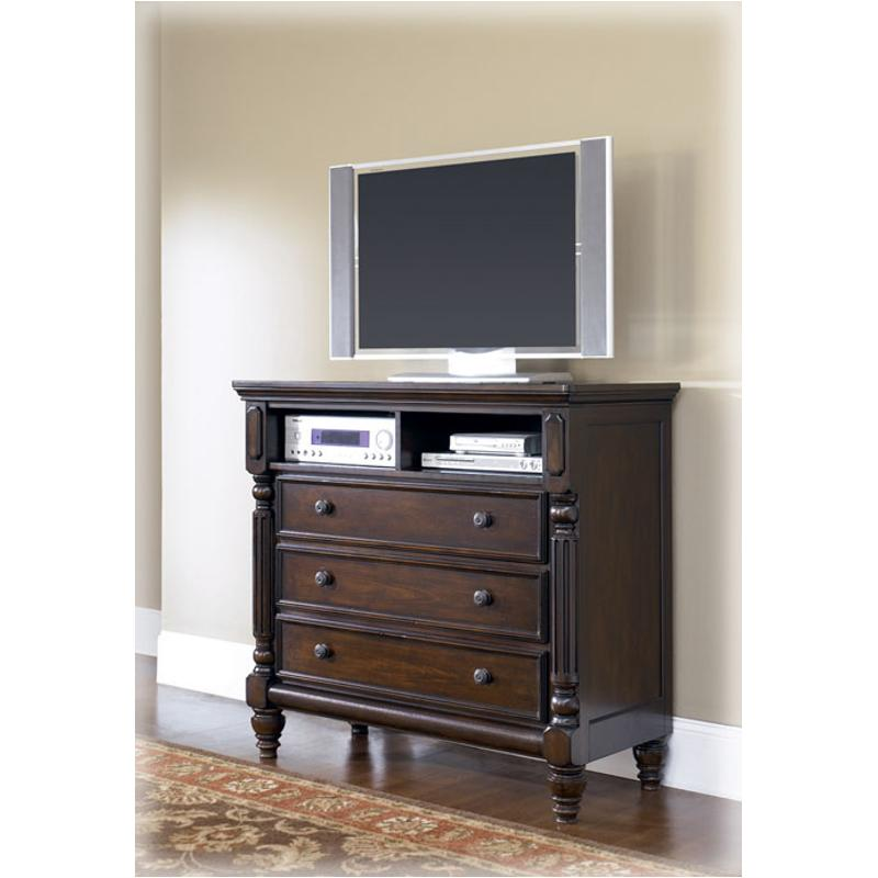 B668 39 ashley furniture key town bedroom media chest - Key town bedroom set ...