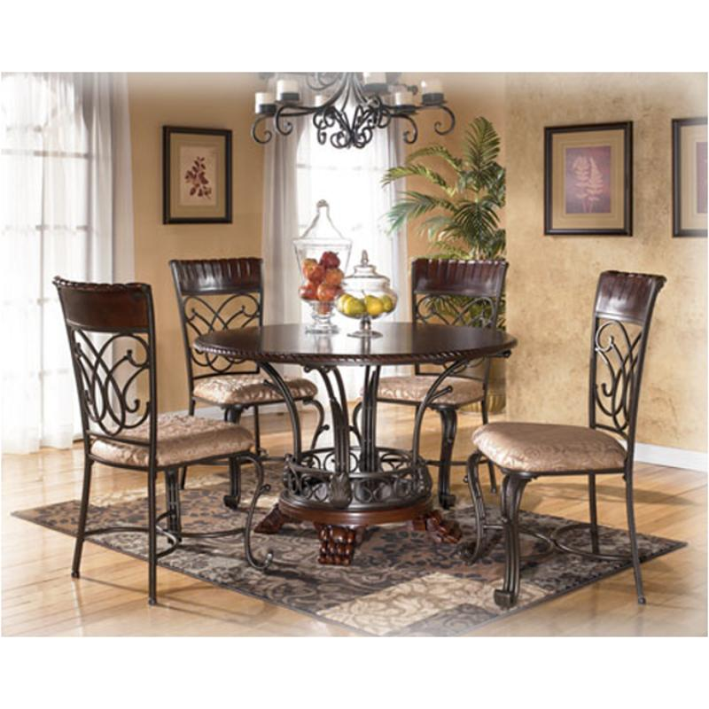 Ashley Furniture Dining Room Table: D345-15 Ashley Furniture Alyssa Round Dining Room Table