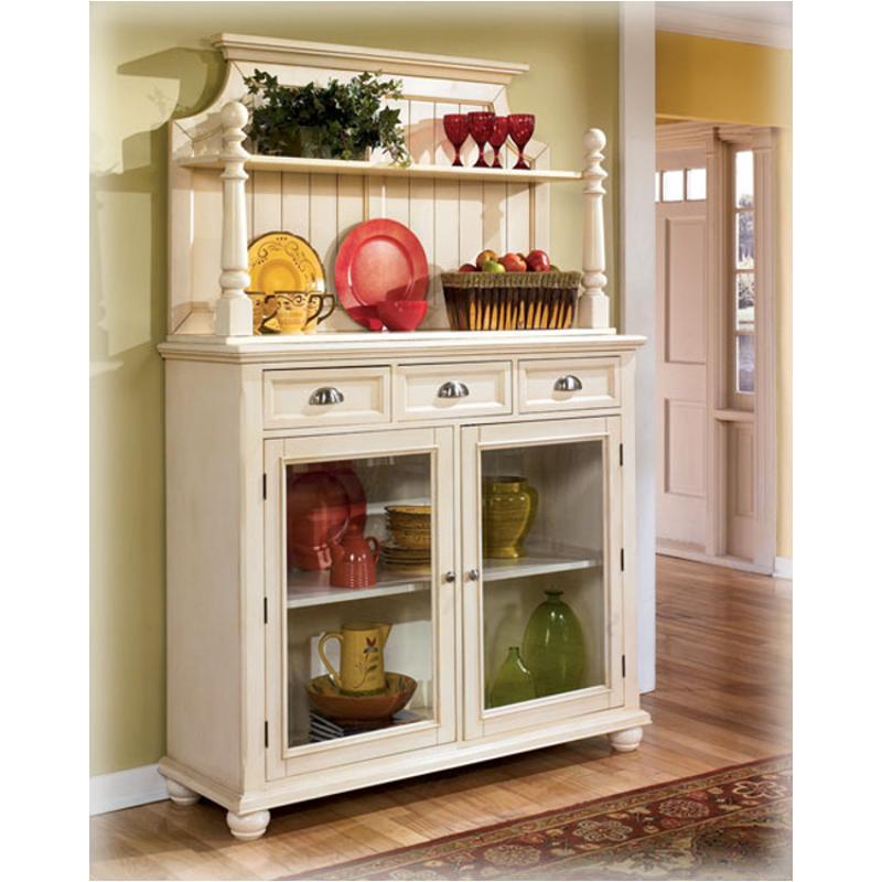 Ashley Furniture Glosco Kitchen Hutch: D423-81 Ashley Furniture Alison Hall Dining Room Hutch (rta