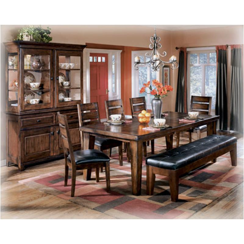 d442-45 ashley furniture rectangular dining room ext table