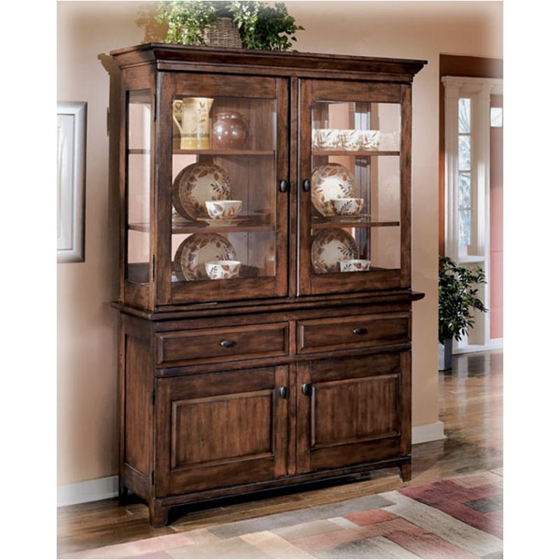 D442 81 Ashley Furniture Larchmont Burnished Dark Brown China