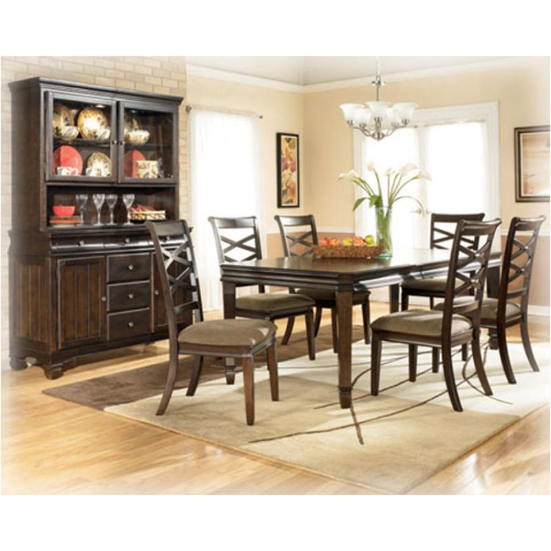 Hayley Dining Room Set: D480-35 Ashley Furniture Rectangular Dining Room Ext Table