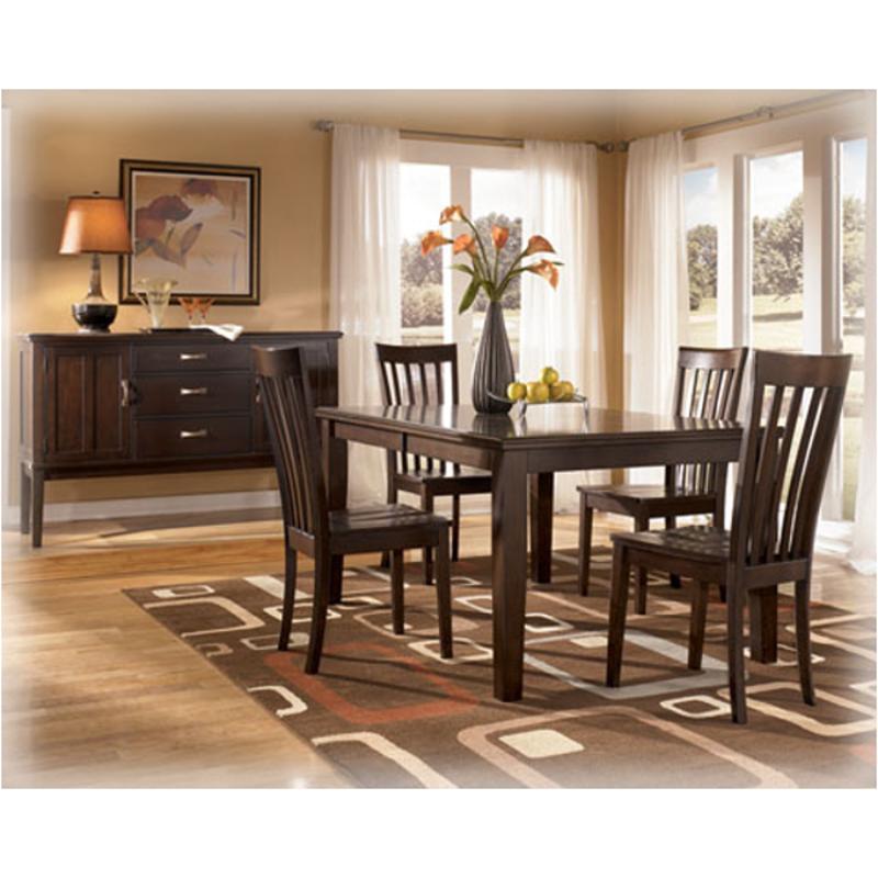 D505 35 Ashley Furniture Logan Rectangular Extension Table