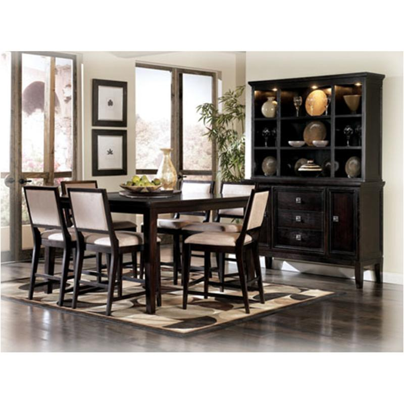 D551 33 Ashley Furniture Square Counter Height Table W Lazy Susan