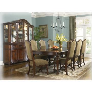D625 01 Ashley Furniture Uph Side Chair Rta Dark Brown Finish