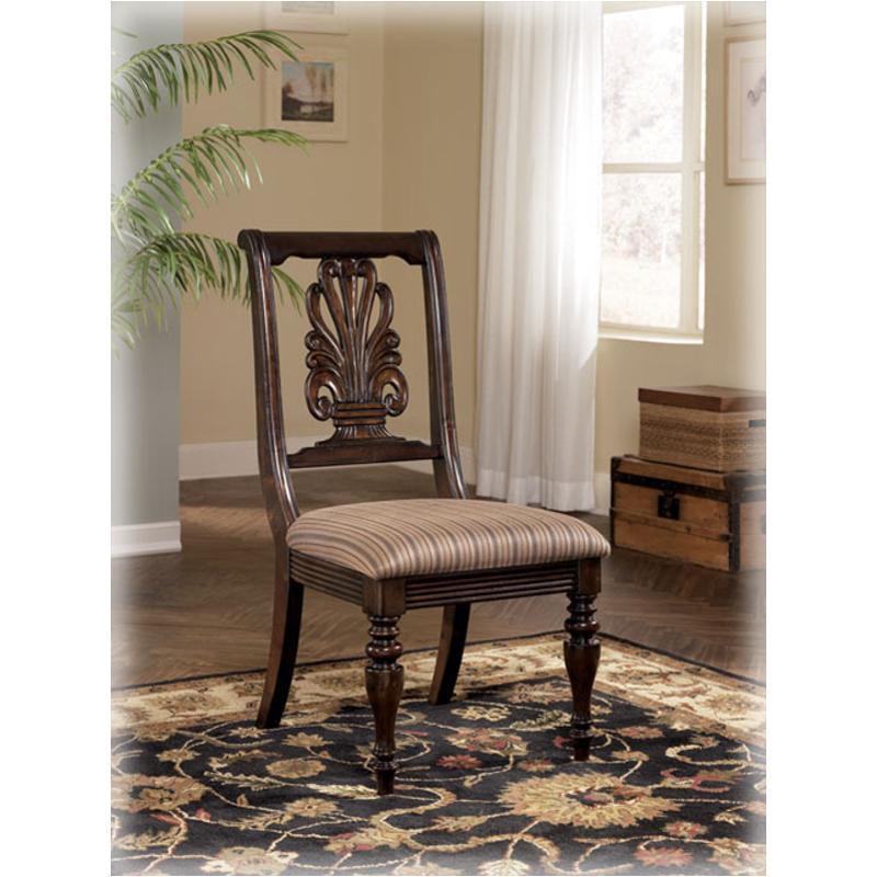 Ashley Furniture Comcom: D668-01 Ashley Furniture Key Town Dining Upholstered Side